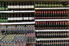 Variation av öl arkivfoton