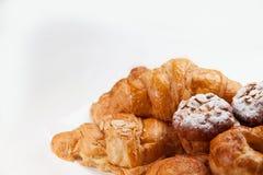 Variation av bageriprodukter Arkivfoto