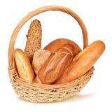 Variation av bröd Arkivfoton