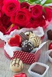Variation av choklader Royaltyfri Foto