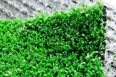 Variation av konstgjort gräs eller dess typer Arkivfoton