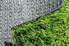 Variation av konstgjort gräs eller dess typer Arkivfoto