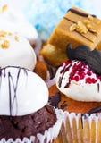 Variation av muffiner Fotografering för Bildbyråer