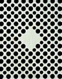 Variation av svarta fyrkanter Arkivfoto