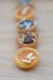Variation av tarts Royaltyfri Bild