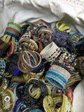Variation of Bracelet colorful. Image for wallpaper, store, shop, article, background stock images