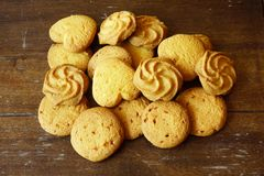 Variation of cookies Royalty Free Stock Photography