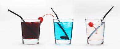 Variation för lång drink arkivfoton