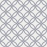 Variation of Japanese motif. Seamless pattern. Stock Photography