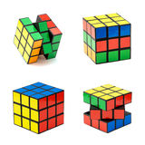 Variation of the Rubik's cube Royalty Free Stock Images