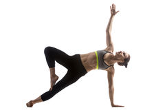 Variation of Side Plank Pose Stock Photography