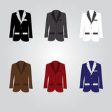 Variation of suits eps10 Stock Photos