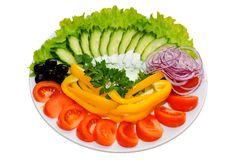 Variation vegetables Royalty Free Stock Photography