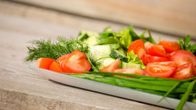 Variation of vegetables Royalty Free Stock Image