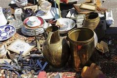 Variationen av objekt på försäljning i Nice, Frankrike Royaltyfri Bild