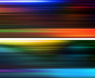 2 variations of abstract background. 2 variations of cool colorful abstract background Stock Photography