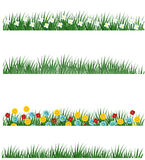 Variations d'herbe de source Image libre de droits