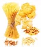 Variations of italian macaroni Stock Photography