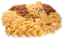 Variations of italian macaroni Royalty Free Stock Images