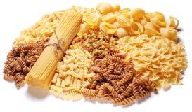 Variations of italian macaroni Stock Photos
