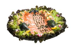 Variations from salmon Royalty Free Stock Images