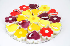 Variations of small cakes Royalty Free Stock Image