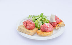 Variations of tartare Stock Photo
