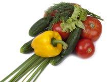 variationsgrönsaker royaltyfri bild