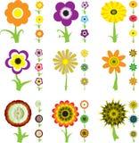 Variazione del fiore illustrazione di stock