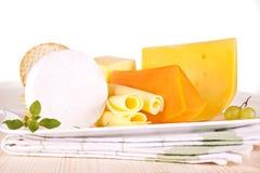 Variazione del formaggio. Fotografie Stock
