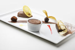 Variazioni del cioccolato Fotografie Stock