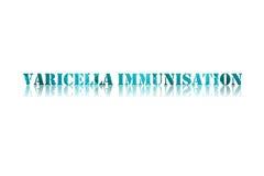 Varicella immunisation Stock Images