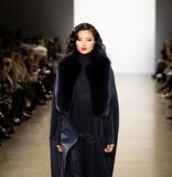 Zang Toi FW19 Runway show as part of there New York Fashion Week stock image