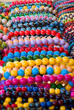 Varicolored beads Royalty Free Stock Image