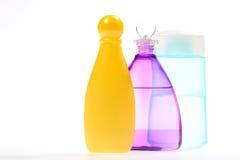 Varicolored Bottles Stock Photos