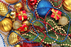 Varicolored Christmas decorations Royalty Free Stock Photography