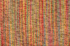 Varicolored knitted carpet background Royalty Free Stock Images