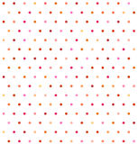 Varicolored polka dot background. Non seamless Stock Images