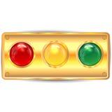 Varicoloured кнопки Стоковое Изображение