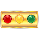 Varicoloured кнопки Иллюстрация штока