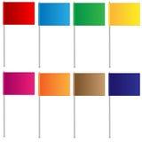 Varicoloured флаги Стоковая Фотография