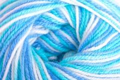 Varicoloured balloon of yarn Stock Images