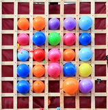 Varicoloured balls Royalty Free Stock Photos