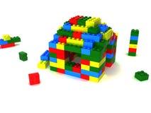 The varicoloured blocks Stock Images
