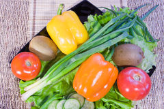 Varicoloured fruit and vegetables Royalty Free Stock Image