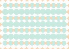 Varicoloured Kreise extrahieren dekorativen Hintergrund lizenzfreie abbildung