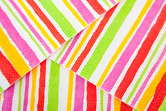 Varicoloured Lines Background. Abstract striped background of a Varicoloured paper Royalty Free Stock Image