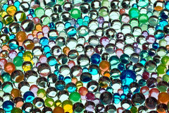 Varicoloured marbles Royalty Free Stock Images