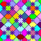 Varicoloured Muster stock abbildung