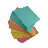 Varicoloured paper for office Royalty Free Stock Photography